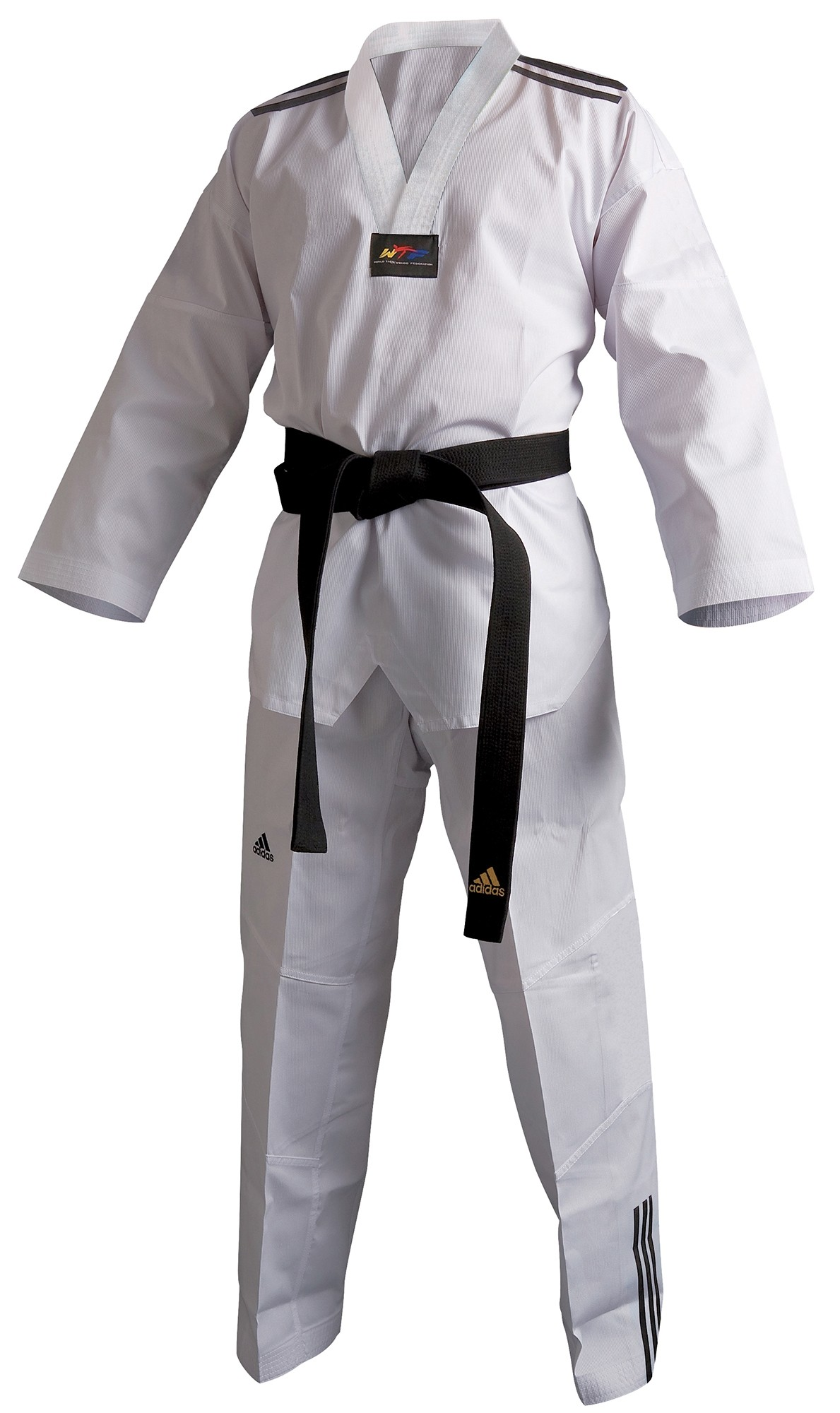 Dobok adi-Club 3F Cuello Blanco