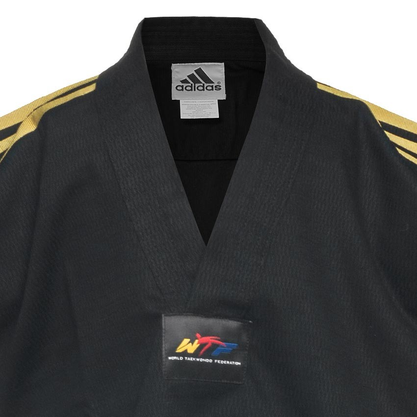 Dobok Adi-Champion Color Negro