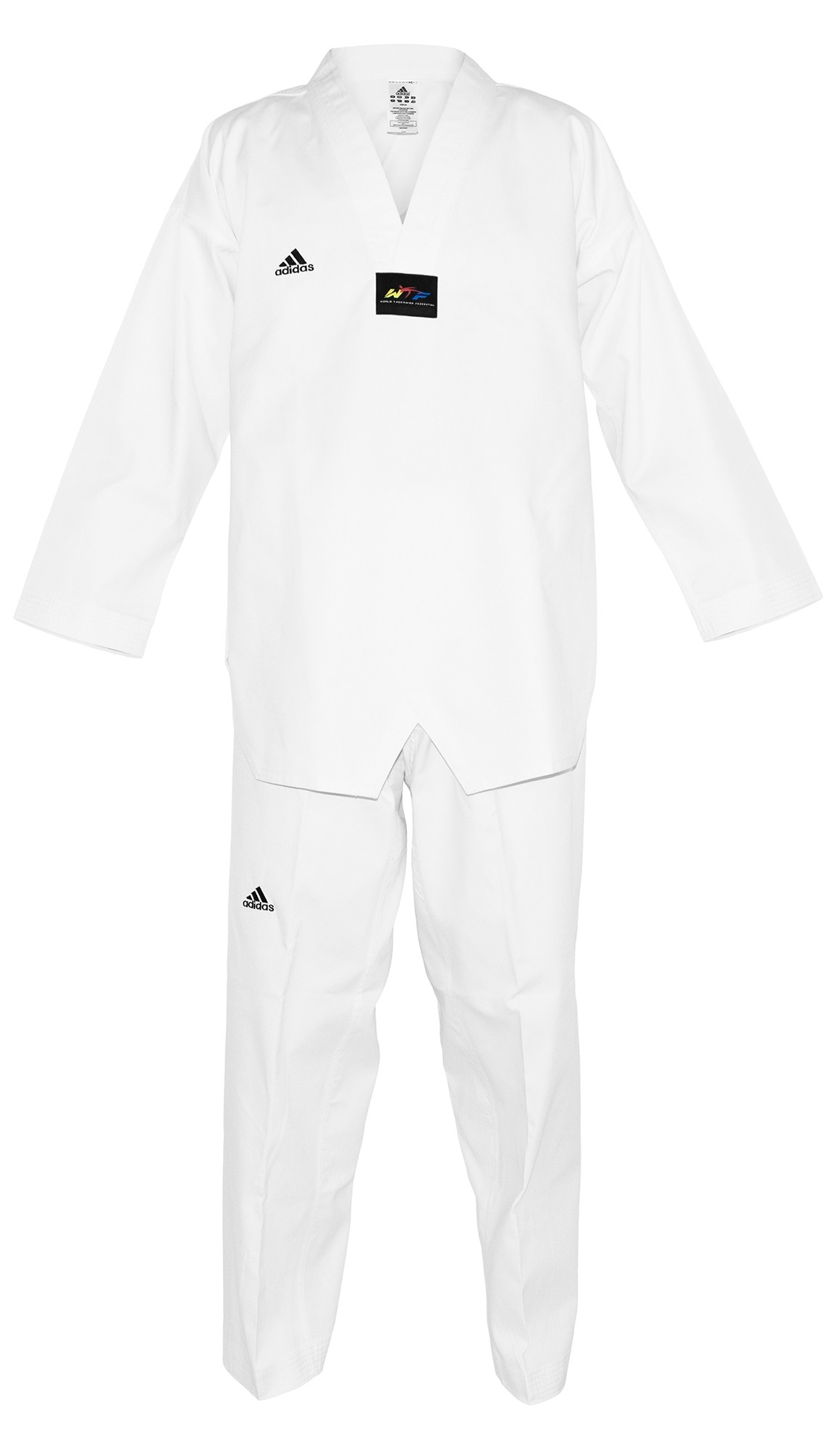 Dobok adi-Start Cuello Blanco